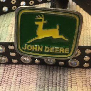 John deer belt buckle Paul Frank
